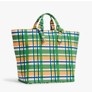 Mad About Plaid Tote by Pamela Munson